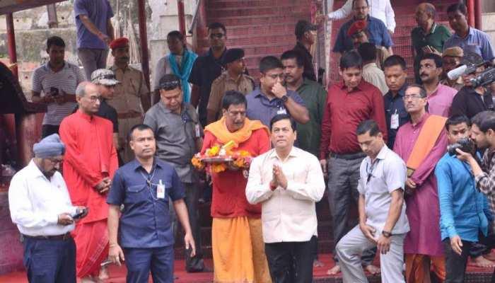 असम के कामख्या मंदिर के अम्बुवासी मेले की तैयारियां जोरों पर, प्रशासन ने लिया जायजा