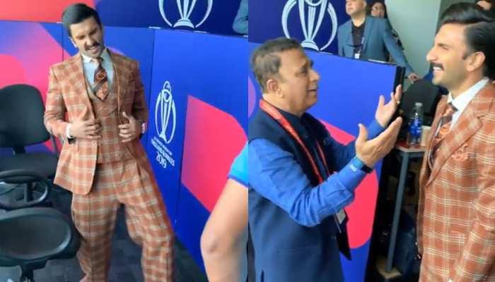 VIDEO: जब सुनील गावस्कर बने शम्मी कपूर, 'बदन पे सितारे' गाने पर किया रणवीर संग डांस