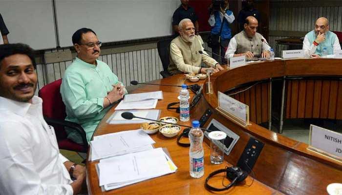 PM मोदी ने सर्वदलीय बैठक के बाद नेताओं को दिया धन्यवाद, कहा - कई मुद्दों पर चर्चा हुई