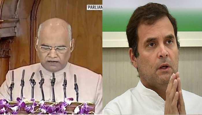 संसद: राष्ट्रपति ने कहा - जल्द आएंगे राफेल विमान, राहुल बोले- सौदे में हुई चोरी