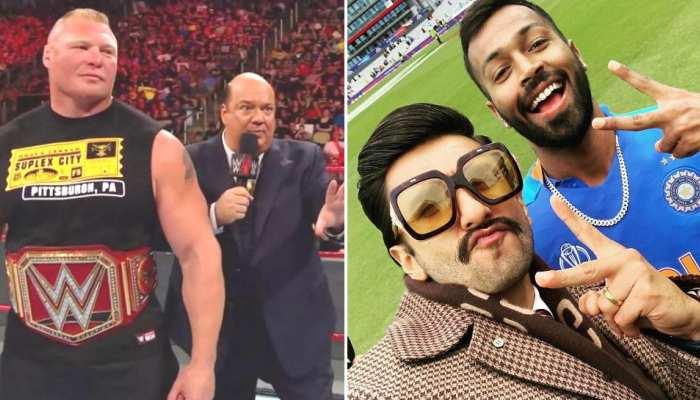 ब्रॉक लेसनर के वकील ने रणवीर सिंह को भेजा नोटिस, PAK पर जीत के बाद किया था ट्वीट