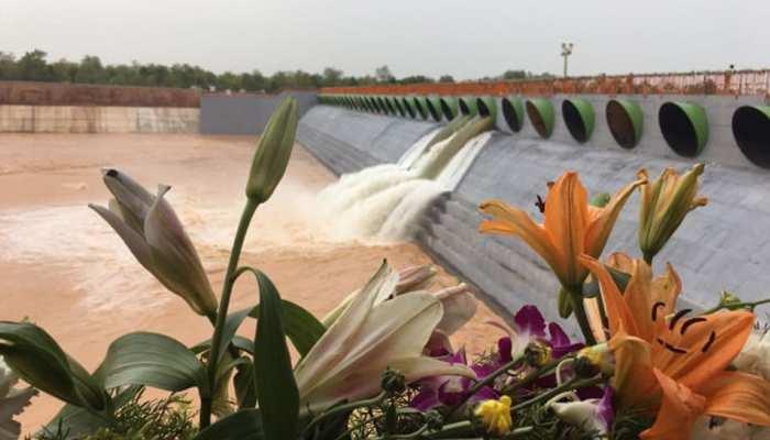 तेलंगाना में हुआ दुनिया की सबसे बड़ी लिफ्ट सिंचाई परियोजना 'कालेश्वरम' का लोकार्पण