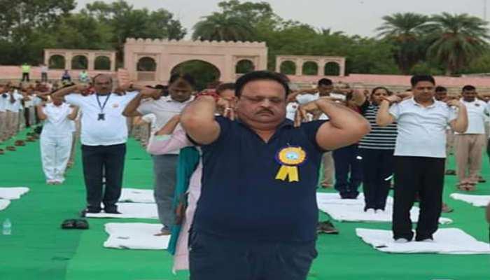 अजमेर: राज्य सरकार के योग समारोह पर चढ़ा राजनीति का रंग, BJP विधायक ने लगाए कई आरोप
