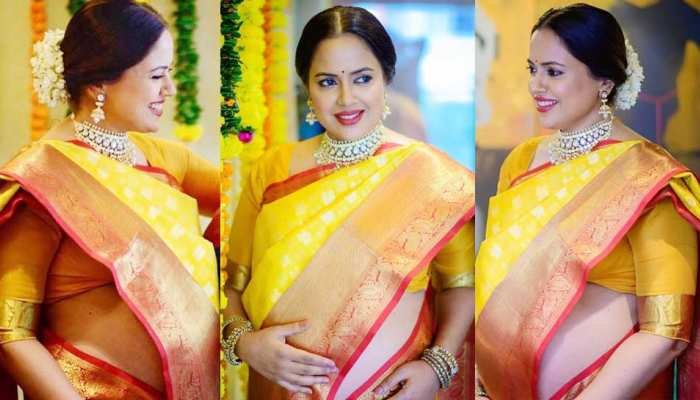 PHOTOS: These photos of Sameera Reddy's baby shower on viral viral