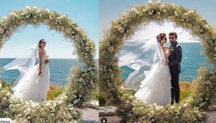 after Hindu wedding actress and mp Nusrat Jahan done christian wedding see pics