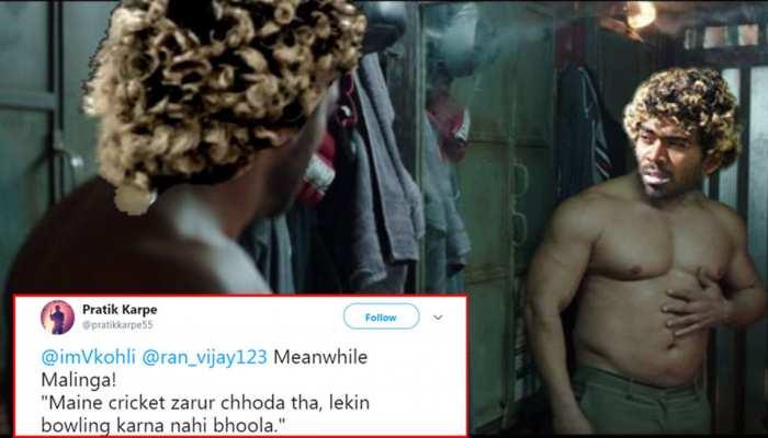 श्रीलंका की जीत के हीरो रहे मलिंगा, फैंस ने 'सुल्तान' के सलमान खान से कर डाली तुलना