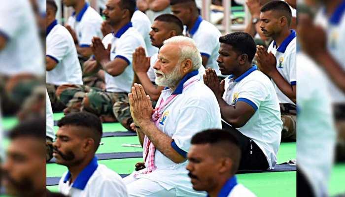 योग को बढ़ावा देने के लिए पुरस्कार पाने वालों को PM मोदी ने दी बधाई, कहा- 'उनके काम पर गर्व है'