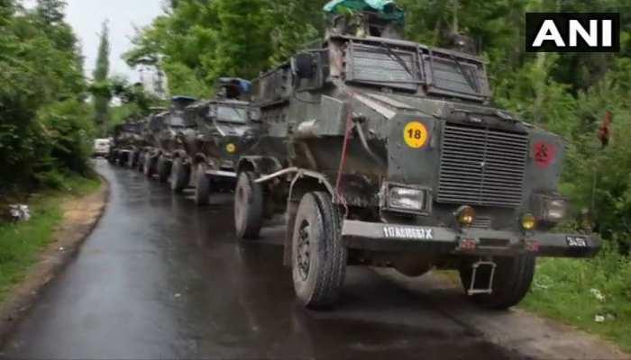 जम्मू कश्मीरःशोपियां में सुरक्षाबलों ने 4 आतंकवादियों को किया ढेर, इंटरनेट सेवा बंद