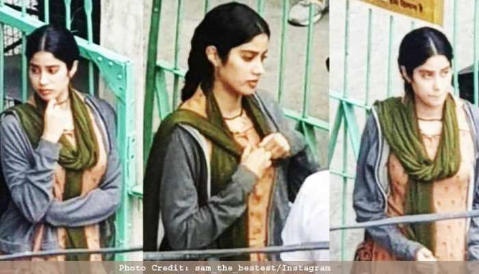For the first time, pictures of Jahnavi Kapoor's film 'RoohiAfza', see PICS