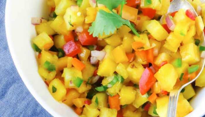 Summer Food: आम खाने के शौकीन हैं तो जरूर ट्राई करें 'मैंगो सालसा' की रेसिपी