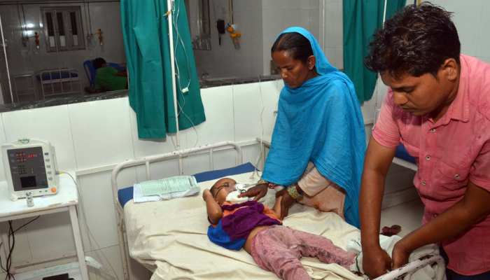 सर्वाधिक बच्चियों को अपना शिकार बना रहा है चमकी बुखार, मड़वन में 29 में से 20 लड़की