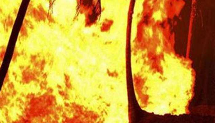 जयपुर: मारपीट के दौरान बढ़ा विवाद, ऑटो को कर दिया आग के हवाले