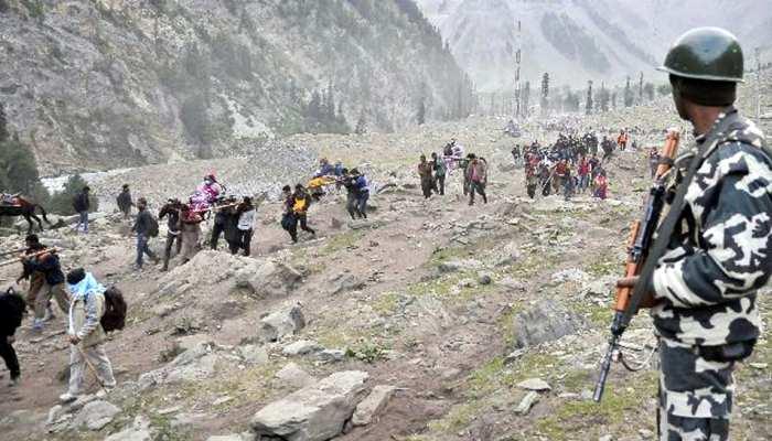 अमरनाथ यात्रा पर मंडरा रहा आतंकी हमले का खतरा, पहाड़ों पर छिपे हैं आतंकी!