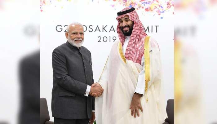 PM मोदी ने सऊदी अरब के क्राउन प्रिंस से की मुलाकात, इन मुद्दों पर हुई चर्चा