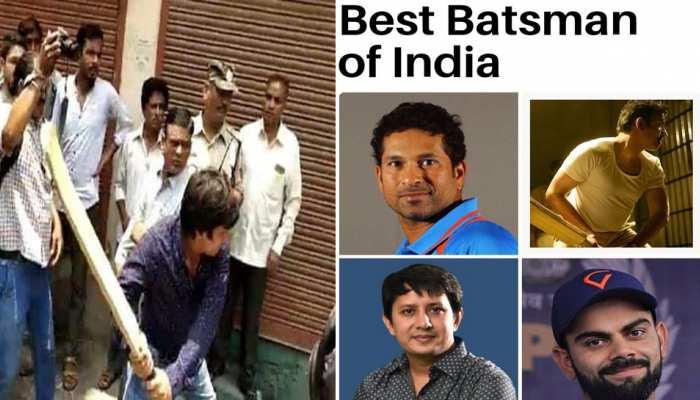 सोशल मीडिया पर छाए 'बैटमैन' आकाश विजयवर्गीय, लोग बोले- 'मैं भी बल्लेबाज'