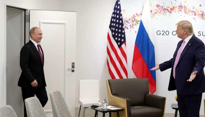 अमेरिकी राष्ट्रपति ट्रंप ने रूसी राष्ट्रपति पुतिन के साथ रिश्तों को बताया 'बहुत अच्छा'