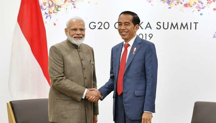 इंडोनेशिया के राष्ट्रपति से मिले पीएम मोदी, 2025 तक 50 बिलियन डॉलर व्यापार पहुंचाने का लक्ष्य