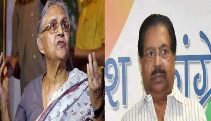 दिल्ली कांग्रेस की कलह सामने आई, शीला के फैसले को पीसी चाको ने 24 घंटे में पलटा