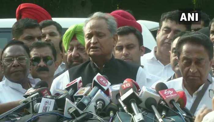 राहुल के इस्तीफे पर नहीं हुआ फैसला, गहलोत बोले- सभी CM ने की थी पद छोड़ने की पेशकश