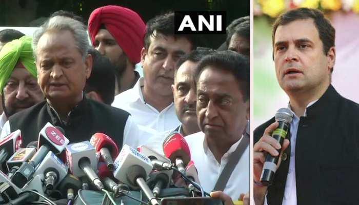 राहुल गांधी को मनाने में कामयाब नहीं हुए कांग्रेस शासित 5 राज्यों के मुख्यमंत्री