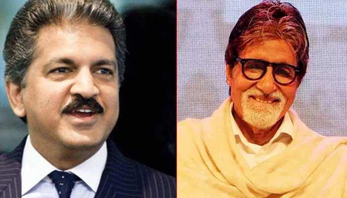 आनंद महिंद्रा ने अमिताभ बच्चन को Big B मानने से किया इनकार, ट्वीट कर कही ये बात!