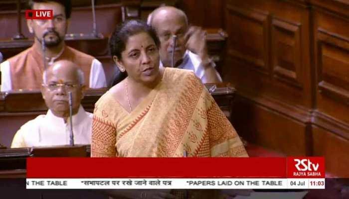 LIVE : वित्त मंत्री निर्मला सीमारमण ने राज्य सभा में पेश किया आर्थिक सर्वे