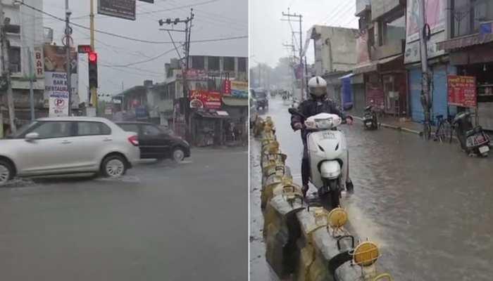 उत्तराखंड के कई हिस्सों में भारी बारिश, मौसम विभाग ने जारी किया ऑरेंज अलर्ट