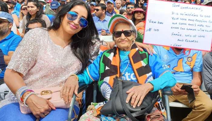 87 साल की फैन चारुलता पटेल ने जीता टीम इंडिया का दिल, कोहली ने लिखी चिट्ठी