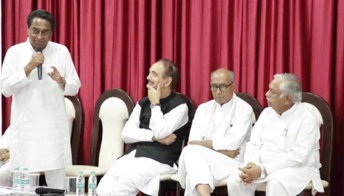 मध्य प्रदेश: विधानसभा सत्र से पहले सीएम कमलनाथ की कांग्रेस विधायक दल के साथ बैठक