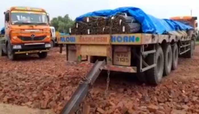 नवादा: चोरी किए हुए पांच ट्रक छड़ जब्त, पुलिस को मिली बड़ी सफलता