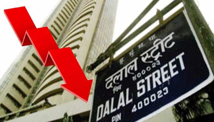 शेयर मार्केट में भारी गिरावट, Sensex 700 अंक टूट कर 39000 के नीचे पहुंचा