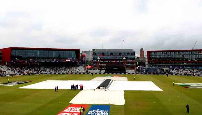 ICC World Cup मौसम अपडेट: आज भी बारिश से धुल सकता है भारत-न्यूजीलैंड मैच