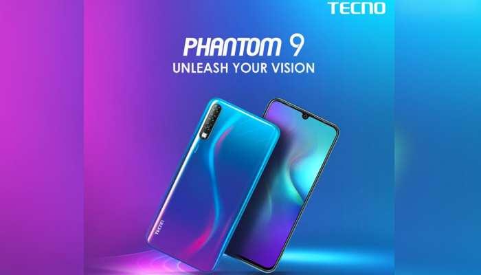 TECNO ने भारत में लॉन्च किया अपना पहला स्मार्टफोन Phantom 9, जानें फीचर्स और कीमत