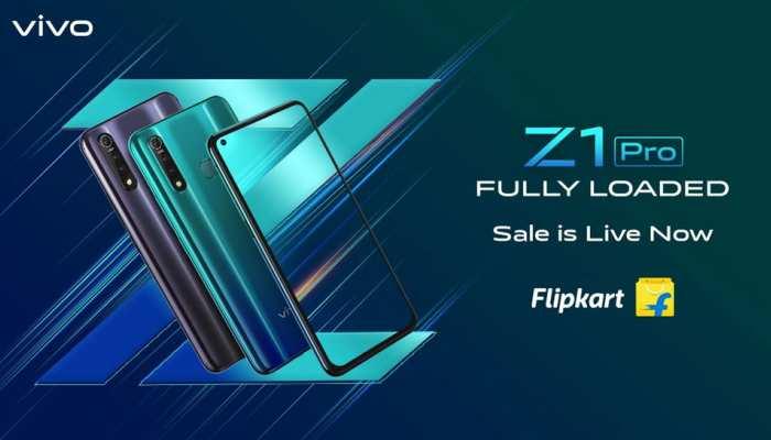 फ्लिपकार्ट पर आज Vivo Z1 Pro की पहली सेल, ICICI कार्ड से उठाएं एक्स्ट्रा बेनिफिट