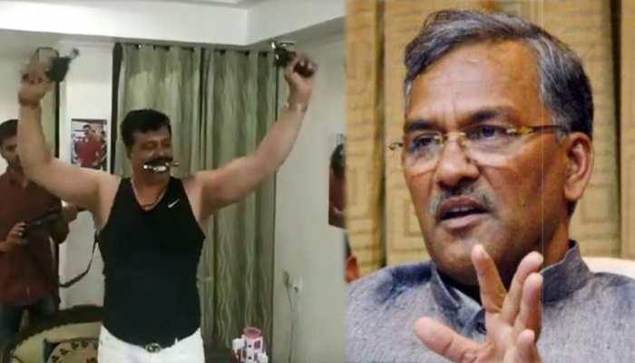 'चैंपियन' की हरकत से CM त्रिवेंद्र नाराज, बोले- 'नेता हो या आम नागरिक कार्रवाई होनी चाहिए'