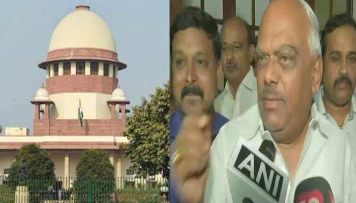 कर्नाटक संकट: SC पहुंचे स्पीकर, बोले- फैसला लेने के लिए सुप्रीम कोर्ट नहीं दे सकता निर्देश