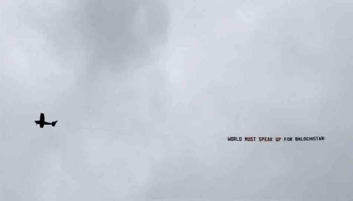 AUSvsENG: विश्व कप में फिर दिखा बलूचिस्तान का नारा, ICC की कोशिश फिर फेल