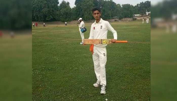 क्रिकेट खेलते समय 18 साल के युवा क्रिकेटर की गर्दन पर लगी बॉल, मौत