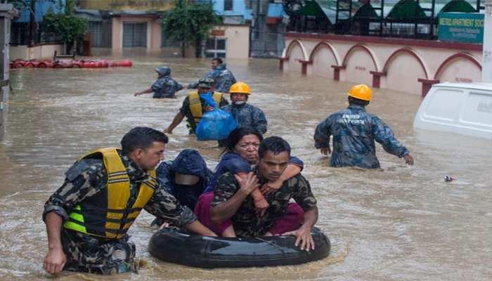 नेपाल : बाढ़ व भूस्खलन ने मचाई तबाही, अब तक 15 लोगों की मौत
