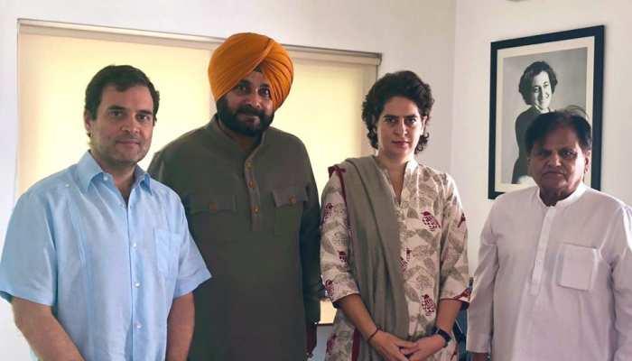 नवजोत सिंह सिद्धू ने कांग्रेस सरकार से दिया इस्तीफा, CM अमरिंदर सिंह से चल रहा था टकराव