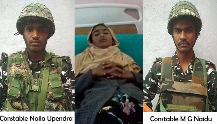 VIDEO: जम्मू-कश्मीर: जब नदी में छलांग लगा सीआरपीएफ के दो जवानों ने बचाई 14 वर्षीय नगीना की जान