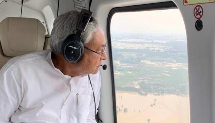 बिहार बाढ़ : एरियल सर्वे के बाद CM नीतीश आज विधानसभा में देंगे हालात की जानकारी
