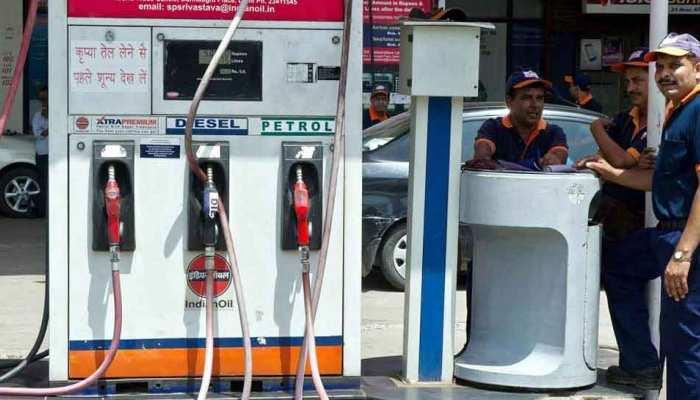 पेट्रोल के दाम में वृद्धि पर लगा ब्रेक, डीजल के भाव भी स्थिर