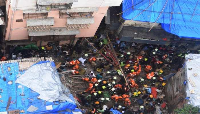 डोंगरी हादसा: बीएमसी कमिश्नर घटनास्थल पर पहुंचे, अब तक 5 की मौत