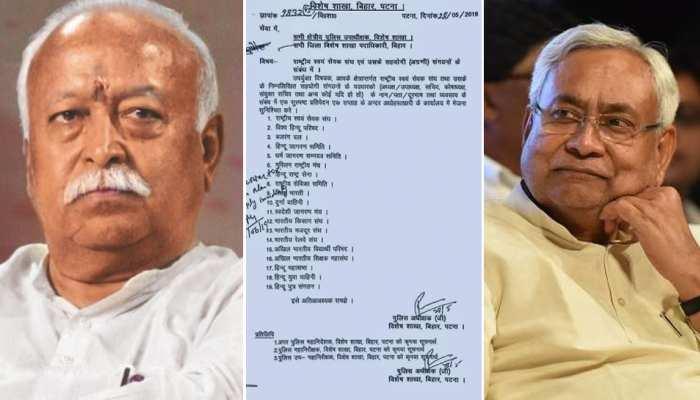बिहार सरकार के मंत्री का दावा, 'RSS को लेकर नहीं जारी हुई कोई चिट्ठी'