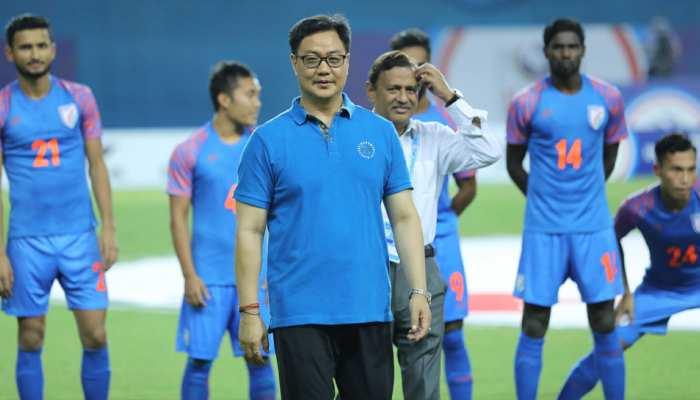 खेल मंत्रालय भारतीय फुटबॉल को अतिरिक्त वित्तीय सहायता प्रदान करेगा: मंत्री रिजिजू