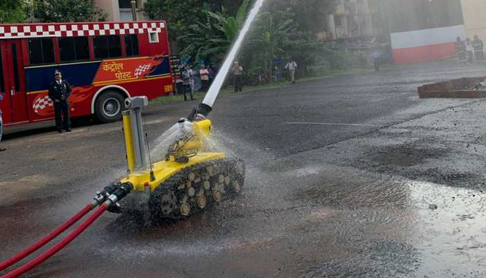 PHOTOS: Now robots will helf fire brigade team of Mumbai