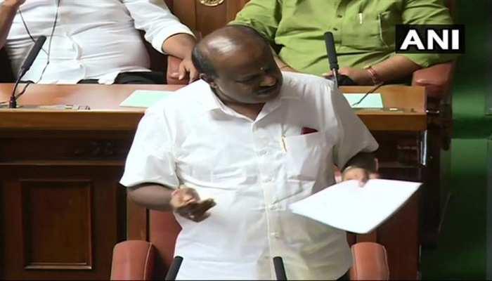 कर्नाटक: राज्यपाल की मुख्यमंत्री को दूसरी चिट्ठी, कहा- शाम 6 बजे तक साबित करें बहुमत
