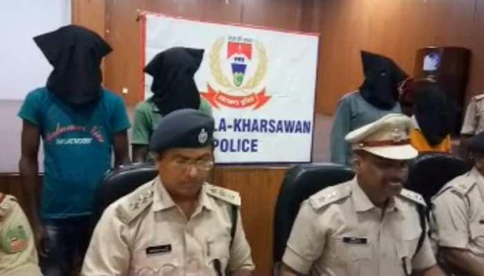 झारखंडः सरायकेला में चार नक्सली गिरफ्तार, 5 पुलिसकर्मियों की थी हत्या