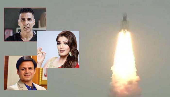 Chandrayaan 2: सफल लॉन्च पर बॉलीवुड सेलेब्स ने ISRO को ट्विटर पर दी बधाई
